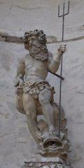 Neptunusz, a tenger istene - Fraknó vára(fotó: Vimola Ágnes)