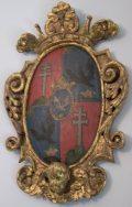 A Széchenyi család címere Nagycenki Széchenyi mauzóleum (fotó: Vimola                         Ágnes)