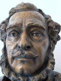 Széchenyi szoborfej - Nagycenki Széchenyi Mauzóleum (Fotó: Vimola                         Ágnes)