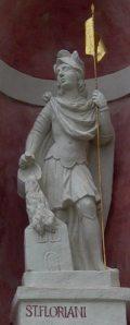 Szent Flórián, Fraknó vára (fotó: Vimola Ágnes)
