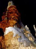 Cseppkövek a Baradla-barlangban - Jósvafő, 2000 (Fotó: Vimola Ágnes)