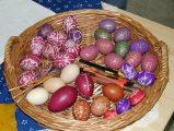 Festett tojások - Takácsi, Festett tojások kiállítás (Fotó: Vimola Ágnes)