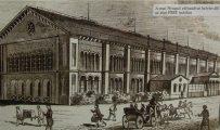 Az első pesti vasúti indóház - Kiállításanyag a Nagycenki Múzeumban(fotó: Vimola Ágnes)