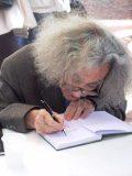 Faludy György dedikál – 2006 (Fotó: Vimola Ágnes)