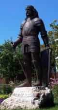 Hunyadi János szobra Budaörsön(fotó: Vimola Ágnes)