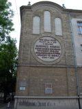 Dugonics András egykori szülőháza helyén álló iskola Szegeden (fotó: Vimola Ágnes)