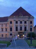 Az első magyar nyelvű színielőadás helyszíne(fotó: Vimola Ágnes)