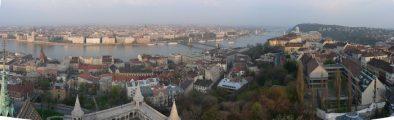 Budapest panorámaképen (fotó: Vimola Ágnes)