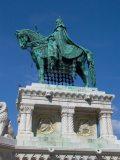 Szent István lovas szobra (Strobl Alajos, 1906) (fotó: Vimola Ágnes)