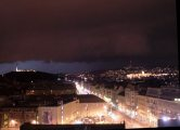 Szupercella Budapest fölött 2006. augusztus 20-án, 21:00-kor (fotó: Vimola Ágnes)