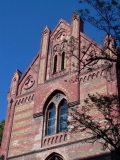 A Toldy Ferenc Gimnázium épületének részlete (fotó: Vimola Ágnes)