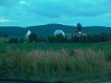 A taliándörögdi egykori űrtávközlési központ (fotó: Vimola Ágnes)