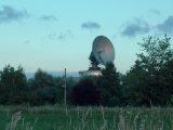 A taliándörögdi egykori űrtávközlési központ nagy műholdvevő antennája (fotó: Vimola Ágnes)