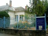 A József Attila emlékmúzeum épülete Balatonszárszón (fotó: Bánkeszi Katalin)