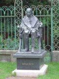 Kölcsey Ferenc szobra Debrecenben (Ráthonyi József) (fotó: Bánkeszi Katalin)