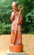 Szent Márton szobra Lentiben (fotó: Bánkeszi Katalin)