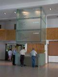 A Budaörsi Önkormányzat ügyfél tájékoztatója (fotó: Vimola Ágnes)