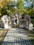 Körner József: Az 56-os emlékmű a Kerepesi temetőben(fotó: Perdy-Fazakas                         Brigitte)