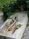 Radnóti Miklós síremléke a Kerepesi temetőben (fotó: Perdy-Fazakas Brigitte)