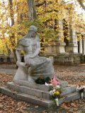 Csorba Géza: Ady Endre síremléke a Kerepesi temetőben, 1930(fotó:                         Perdy-Fazakas Brigitte)