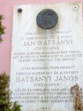 Batsányi János emléktáblája Kassán (Fotó: Mann Jolán)