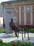 Márai Sándor szobra Kassán (Fotó: Mann Jolán)