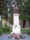 Petőfi Sándor szobra Rimaszombatban (Fotó: Mann Jolán)