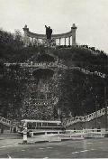 Szent Gellért szobra Budapesten - 1970 (fotó: Tóth Imre)