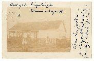 Ady Endre képeslapja Bíró Lajosnak (autográf) - Országos Széchényi Könyvtár