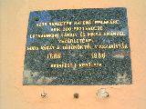 Emléktábla Buda visszavívásának tiszteletére a Budai Várban(fotó: Bánkeszi Katalin)