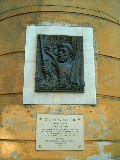 Gerlóczy Gedeon emléktáblája a XI. kerületben, Budapesten(fotó: Sudár Annamária)
