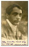 Ady Endre ismeretlen váradi fényképe 1908-ból (Lembert felvétel) – Országos Széchényi Könyvtár, Kézirattár