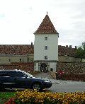 Lakótorony, sárvári vár XII. század (fotó: Őszik Antal)