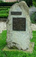 Emlékmű a testvérvárosi kapcsolat 25. évfordulójára Sárváron (Sárvár) (fotó: Őszik Antal)